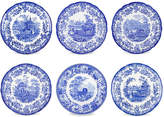 Spode Set of 6 Assorted Porcelain Plates