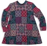 Un Deux Trois Girl's Patchwork A-line Dress