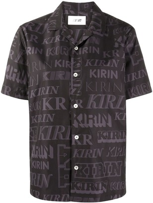 Kirin Logo-Print Short-Sleeved Shirt