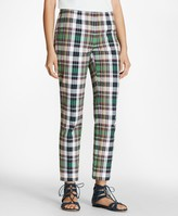Brooks Brothers Madras Cotton Pants