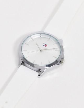 Tommy Hilfiger peyton watch in white