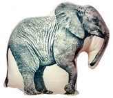 Areaware Elephant Mini Cushion