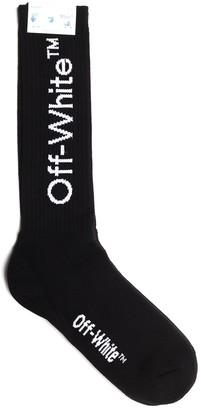 Off-White Arrows Mid-Length Socks