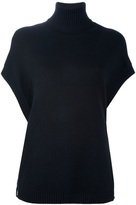 Givenchy short sleeve roll neck