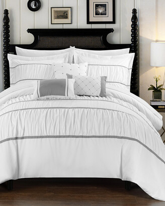 Chic Home Aero 10Pc Bed In A Bag Comforter Set