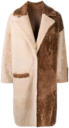 Simonetta Ravizza Stella contrast coat