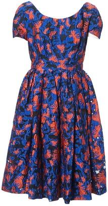 Mary Katrantzou Blue Polyester Dresses