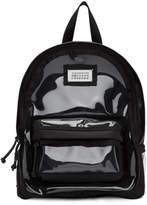 Maison Margiela Black PVC Backpack