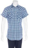 Dolce & Gabbana Plaid Short Sleeve Shirt