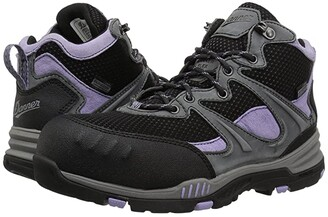 Danner Springfield Non-Metallic Safety Toe (Gray/Lavender) Women's Shoes