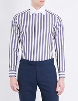 Eton Striped slim-fit cotton shirt