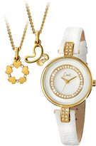 Limit Women's Quartz Watch with Dial Analogue Display and Leather Strap 6014G.00