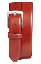 Bosca Men's Leather Dress Belt