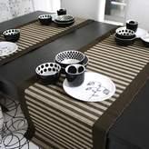 LeYanFu Nordic simple wind stripe Tale Runner Tale Runner decorative towel tea Tale Runner