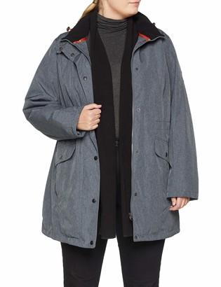 Ulla Popken Women's Wetterjacke mit Kapuze Jacket