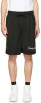 Marcelo Burlon County of Milan Black Yatel Shorts