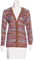 Missoni Striped Button-Up Cardigan