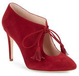Kate Spade Davie Lace-Up Suede Booties