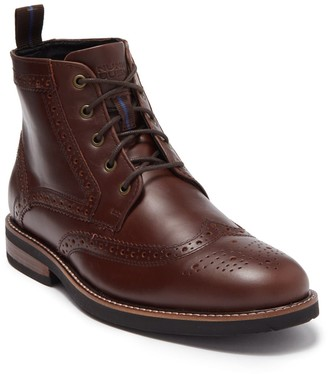 Nunn Bush Odell Wingtip Boot - Wide Width Available