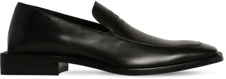 Balenciaga Coin Rim Loafer L20 Leather Loafers