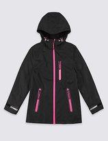 Marks and Spencer Long Sleeve Hooded Coat (3-16 Years)