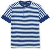 Ralph Lauren Childrenswear Henley Jersey T-Shirt