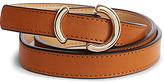 Karen Millen Ring Skinny Belt, Tan