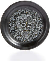 Fiesta Skull and Vine Appetizer Plate