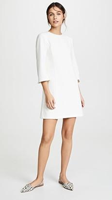 Alice + Olivia Gem 3/4 Sleeve Shift Dress