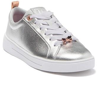 Ted Baker Gielli Metallic Leather Sneaker