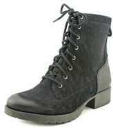 White Mountain Warden Women Round Toe Synthetic Black Ankle Boot.