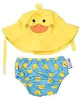Zoocchini Swim Diaper and Sun Hat Set Duck- 0-6m