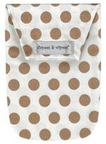Diapees & Wipees Diapees and Wipees Wipes Case in Gold Dots