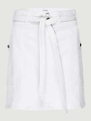 Frame Le Mini Skirt Triple Waistband