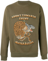 MHI Crouching Tiger sweater - men - Cotton - M