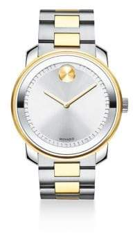 Movado Two-Tone Stainless Steel Chronograph Bracelet Watch