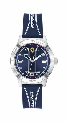 Scuderia Ferrari Unisex's Analogue Quartz Watch with Silicone Strap 0810026