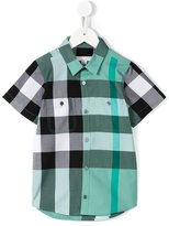 Burberry checked shirt - kids - Cotton - 4 yrs