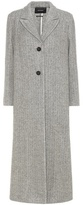Isabel Marant Duard alpaca and wool coat