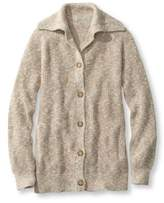 L.L. Bean Women's Cotton Waffle Sweater, Cardigan