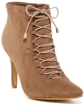 West Blvd Shoes Tunis Lace-Up Bootie