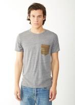 Alternative Pocket Crew Printed T-Shirt
