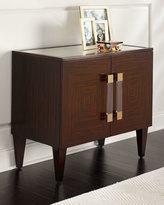 John-Richard Collection Jaxon Eglomise Top Cabinet