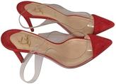 Christian Louboutin Orange Heels