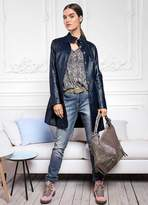 Linea Tesini Heine Leather Coat