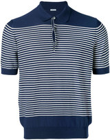 Malo striped polo shirt
