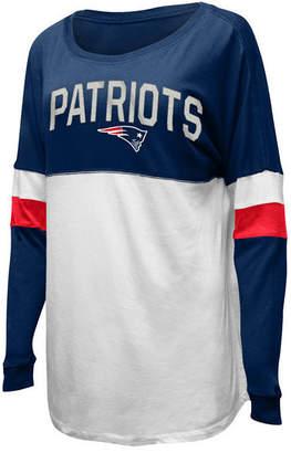 5th & Ocean Women New England Patriots Boyfriend T-Shirt