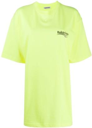 Balenciaga short-sleeve large fit T-shirt