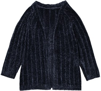 La Redoute Collections Long Chenille Cardigan, 3-12 Years