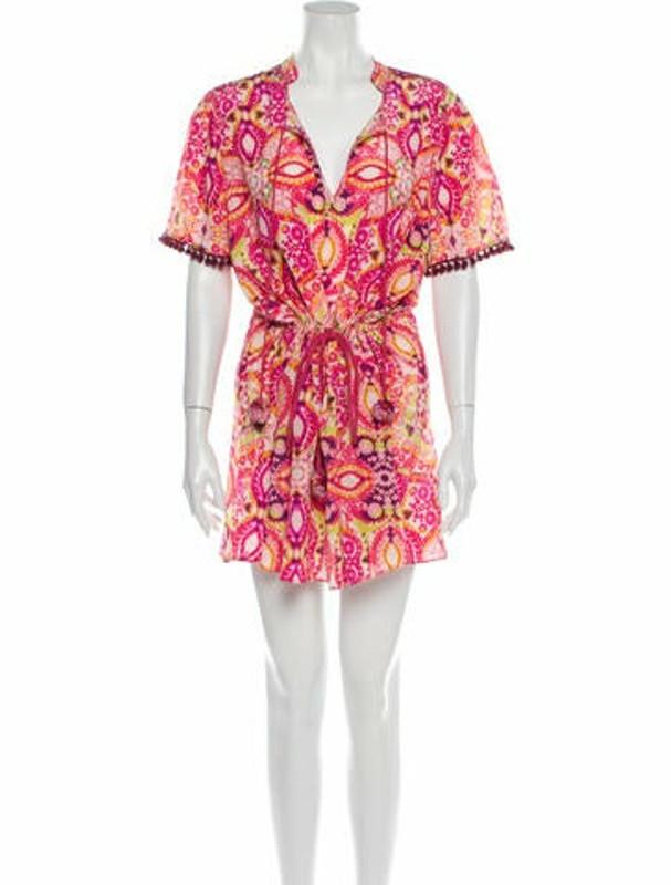 Matthew Williamson Silk Mini Dress w/ Tags Pink